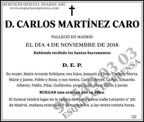 Carlos Martínez Caro